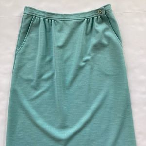VINTAGE ILGWU Made in USA Pencil Skirt